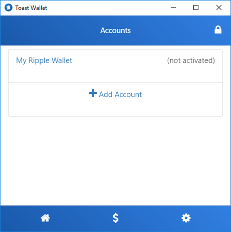 How to create a Ripple wallet